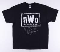"""Hollywood"" Hulk Hogan Signed NWO Shirt (JSA COA) at PristineAuction.com"