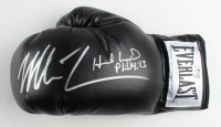 Mike Tyson & Evander Holyfield Signed Everlast Boxing Glove with Inscription (JSA COA & Tyson Hologram) at PristineAuction.com