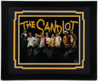 """The Sandlot"" 18x22 Custom Framed Photo Cast-Signed by (5) with Tom Guiry, Marty York, Shane Obedzinski, Chauncey Leopard, Brandon Adams (Fiterman Hologram) at PristineAuction.com"