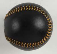 """Dwight """"Doc"""" Gooden Signed OML Black Leather Baseball Inscribed """"No Hitter 5-14-96"""" (PSA COA) at PristineAuction.com"""