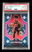 Coby White 2019-20 Panini Chronicles Pink #543 Crusade (PSA 10) at PristineAuction.com