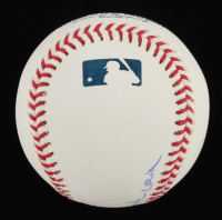 """Dwight """"Doc"""" Gooden Signed OML Baseball Inscribed """"85 MLB Pitching Triple Crown"""" (PSA COA) at PristineAuction.com"""