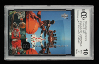 Michael Jordan 1994-95 Collector's Choice International German Decade of Dominance #J7 (BCCG 10) at PristineAuction.com
