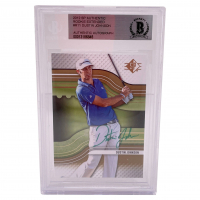 Dustin Johnson Signed 2012 SP Authentic Rookie Extended #R11 RC (BGS Encapsulated) at PristineAuction.com