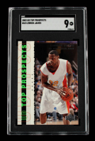 LeBron James 2003-04 UD Top Prospects #60 (SGC 9) at PristineAuction.com