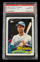 Ken Griffey Jr. 1989 Topps Traded #41T RC (PSA 8) at PristineAuction.com