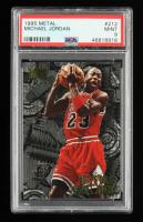 Michael Jordan 1995-96 Metal #212 (PSA 9) at PristineAuction.com