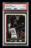 Michael Jordan 1997-98 Topps #123 (PSA 9) at PristineAuction.com