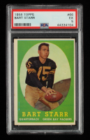 Bart Starr 1958 Topps #66 (PSA 5) at PristineAuction.com