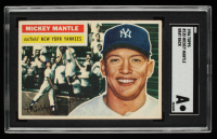 Mickey Mantle 1956 Topps #135 (SGC Authentic) at PristineAuction.com