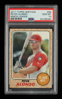 Peter Alonso 2017 Topps Heritage Minors #66 (PSA 10) at PristineAuction.com
