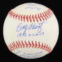 Bobby Shantz Signed OAL Baseball with Multiple Inscriptions (JSA COA) at PristineAuction.com