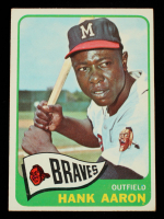 Hank Aaron 1965 Topps #170 at PristineAuction.com