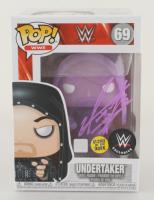 The Undertaker Signed WWE #69 Funko Pop! Vinyl Figure Glow In The Dark (JSA COA & Undertaker Hologram) at PristineAuction.com