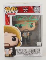 "Ted DiBiase Signed WWE ""Million Dollar Man"" #41 Funko Pop! Vinyl Figure Inscribed ""$"" & ""HOF 2010"" (JSA COA) (See Description) at PristineAuction.com"