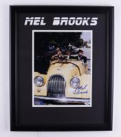 "Mel Brooks Signed ""Silent Movie"" 18x22 Custom Framed Photo Display (PSA COA) at PristineAuction.com"