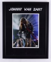 Johnny Van Zant Signed 18x22 Custom Framed Photo Display (JSA COA) at PristineAuction.com