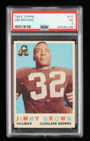 Jim Brown 1959 Topps #10 (PSA 3) at PristineAuction.com