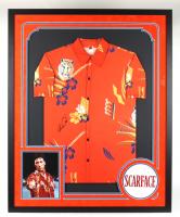 "Al Pacino Signed ""Scarface"" 34x42 Custom Framed Shirt Display (JSA COA) at PristineAuction.com"