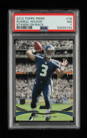 Russell Wilson 2012 Topps Prime #78 RC (PSA 7) at PristineAuction.com