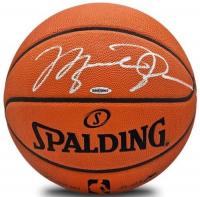 Michael Jordan Signed Spalding Basketball (UDA COA) at PristineAuction.com