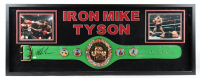 Mike Tyson Signed 21.5x58.5 Custom Framed Display With WBC Full-Size Heavyweight Champion Belt (JSA Hologram & Tyson Hologram) (See Description) at PristineAuction.com