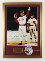 Pete Rose Signed Reds 20x28 Custom Framed Photo Display (JSA COA) at PristineAuction.com