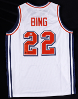 """Dave Bing Signed Jersey Inscribed """"All American"""" (Beckett COA) at PristineAuction.com"""
