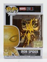 "Tom Holland Signed ""Iron Spider"" #440 Marvel Bobble-Head Funko Pop Vinyl Figure (PSA COA & JSA COA) at PristineAuction.com"