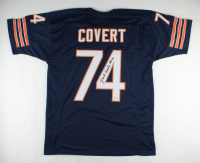 """Jim Covert Signed Jersey Inscribed """"HOF 20"""" (PSA COA) at PristineAuction.com"""