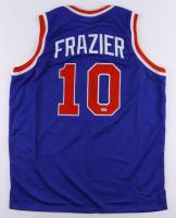 "Walt Frazier Signed Jersey Inscribed ""HOF 1987"" (PSA COA) at PristineAuction.com"