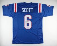 Boston Scott Signed Jersey (PSA COA) at PristineAuction.com