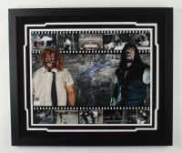 """The Undertaker & Mankind Signed """"Hell in a Cell"""" 22x26 Custom Framed Photo Display Inscribed """"Hell in a Cell 1998"""" (JSA COA & Calaway Hologram) (See Description) at PristineAuction.com"""