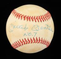 "Mickey Mantle Signed OAL Baseball Inscribed ""NO. 7"" (JSA ALOA) at PristineAuction.com"