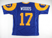 """Robert Woods Signed Jersey Inscribed """"Horns Up!"""" (PSA COA) at PristineAuction.com"""