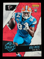 Kyle Pitts 2021 Panini Instant Draft Night #4 RC at PristineAuction.com