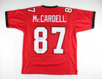 """Keenan McCardell Signed Jersey Inscribed """"SB XXXVII Champs"""" (Beckett COA) at PristineAuction.com"""