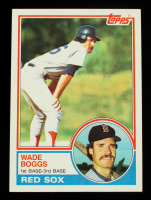 Wade Boggs 1983 Topps #498 RC at PristineAuction.com