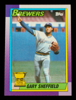Gary Sheffield 1990 Topps #718 at PristineAuction.com