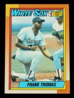 Frank Thomas 1990 Topps #414B RC at PristineAuction.com