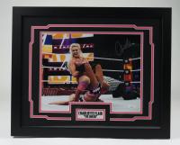 Charlotte Flair Signed WWE 18x22 Custom Framed Photo (JSA COA) at PristineAuction.com