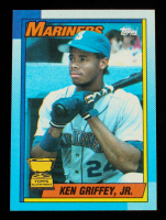 Ken Griffey Jr. 1990 Topps #336 at PristineAuction.com
