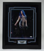 Sasha Banks Signed WWE 18x22 Custom Framed Photo (JSA COA) at PristineAuction.com