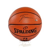 Trae Young Signed NBA Game Ball Series Basketball (Panini COA) at PristineAuction.com