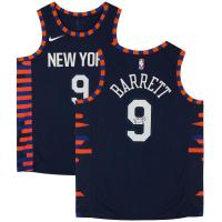 RJ Barrett Signed Knicks Jersey (Fanatics Hologram) at PristineAuction.com