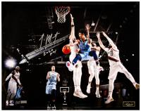 "Ja Morant Signed Grizzlies LE 16x20 Photo Inscribed ""2020 ROY"" (Panini COA) at PristineAuction.com"