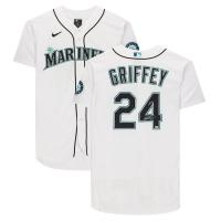 """Ken Griffey Jr. Signed Mariners Jersey Inscribed """"HOF 16"""" (MLB Hologram & Fanatics Hologram) at PristineAuction.com"""