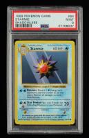 Starmie 1999 Pokemon Base Shadowless #64 (PSA 9) at PristineAuction.com