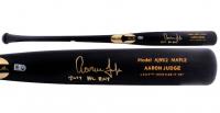 """Aaron Judge Signed Chandler Player Model Baseball Bat Inscribed """"2017 AL ROY"""" (MLB Hologram & Fanatics Hologram) at PristineAuction.com"""