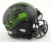DK Metcalf Signed Seahawks Eclipse Alternate Speed Mini Helmet (Beckett COA) (See Description) at PristineAuction.com